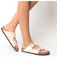 shop for Birkenstock Arizona Two Strap GRACEFUL PEARL WHITE at Shopo