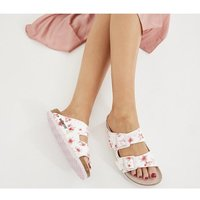 shop for Birkenstock Arizona Two Strap BLOSSOM WHITE FLORAL at Shopo