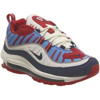 Nike Air Max 98 SUMMIT WHITE BLUE VOID RED