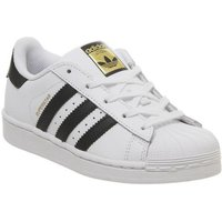 adidas Superstar Kids 10-2 WHITE CORE BLACK
