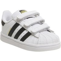 adidas Superstar Infant 2-9 WHITE CORE BLACK WHITE
