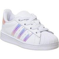 adidas Superstar Infant 2-9 WHITE IRIDESCENT