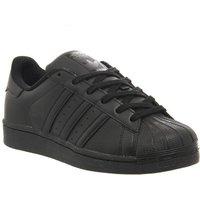 adidas Superstar Gs BLACK MONO