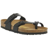 Birkenstock Mayari Cross Strap Sandal BLACK,Schwarz,Grau