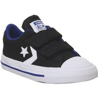 Converse Star Player Infant BLACK RUSH BLUE WHITE