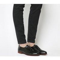 Office Reach Softy Lace Up BLACK GROUCHO LEATHER