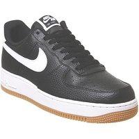 Nike Air Force 1 Lv8 BLACK WHITE WOLF GREY GUM MEDIUM BROWN