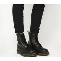 shop for Dr. Martens Vegan 1460 8 Eye Boots BLACK at Shopo