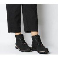 shop for Timberland Slim Premium 6 Inch Boot BLACK ROSE GOLD at Shopo