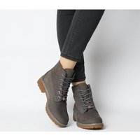 shop for Timberland Slim Premium 6 Inch Boot EIFFEL TOWER GREY at Shopo