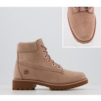 shop for Timberland Slim Premium 6 Inch Boot TAWNY ROSE GOLD CHAIN at Shopo
