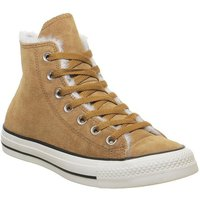 Converse All Star Hi BURNT SIENNA SHEARLING EXCLUSIVE