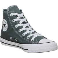 Converse All Star Hi FADED SPRUCE SMILE BLACK WHITE
