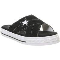 Converse One Star Sandal BLACK EGRET WHITE