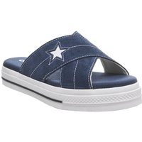 Converse One Star Sandal NAVY EGRET WHITE