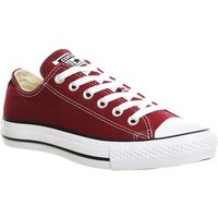 Converse All Star Low MAROON CANVAS
