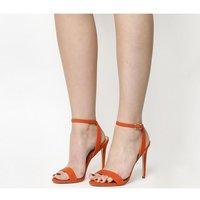 Office Alana Single Sole Sandal BRIGHT CORAL NUBUCK