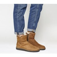 shop for UGG Classic Lux Abree Mini CHESTNUT SUEDE at Shopo
