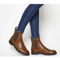 shop for Vagabond Amina Chelsea Boot COGNAC LEATHER at Shopo