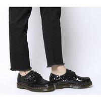 shop for Dr. Martens 3 Eyelet Shoe BLACK SEQUIN at Shopo