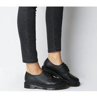 shop for Dr. Martens 3 Eyelet Shoe BLACK MONO VIRGINIA at Shopo