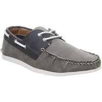 Office Floats Your Boat Shoe GREY NAVY