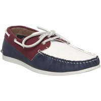 Office Floats Your Boat Shoe RED NAVY WHITE