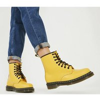 Dr. Martens 8 Eyelet Lace Up Bt YELLOW