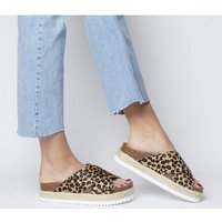 Office Mexico Cross Strap Footbed LEOPARD 2