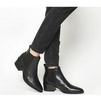 shop for Vagabond Marja Ankle Boot BLACK LEATHER at Shopo