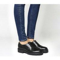 shop for Vagabond Kenova Lace Shoe BLACK LEATHER at Shopo