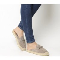 shop for Kanna Dora Mule GREY SUEDE at Shopo