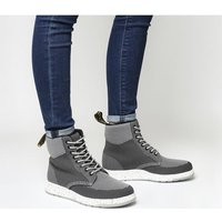 shop for Dr. Martens Rigal MID GREY KNIT at Shopo