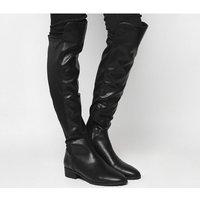 Office Kensington- Stretch Back Knee Boot BLACK