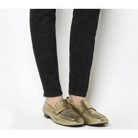 shop for Vagabond Evelyn Loafer GOLD at Shopo