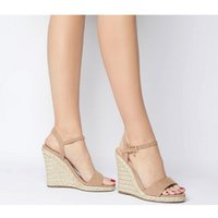 shop for Office Honolulu 2 Part Dressy Espadrille Wedge NUDE WITH CHARM at Shopo