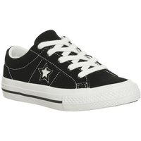 Converse One Star Youth BLACK WHITE