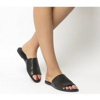 shop for Vagabond Tia Woven Sandal BLACK at Shopo
