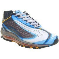 Nike Air Max Deluxe PHOTO BLUE WOLF GREY ORANGE PEEL BLACK