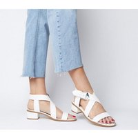 shop for Office Marble Strappy Sandal WHITE 2 at Shopo