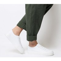 Office Fro Yo Chunky Sole Lace Up WHITE