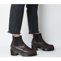 shop for Dr. Martens Rometty Chelsea Boot BURGUNDY at Shopo