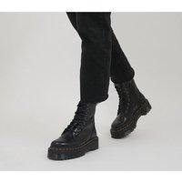 shop for Dr. Martens Jadon 8 Eye Boots BLACK at Shopo