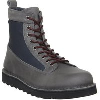 Ask the Missus Incline Hiker Boot GREY LEATHER,Grau
