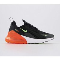 Nike Air Max 270 Gs BLACK GHOST GREEN TOTAL ORANGE