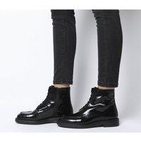 shop for Vagabond Alex Lace Boot BLACK POLISH at Shopo