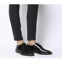 Office Freefall Studded Lace Up BLACK BOX LEATHER