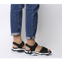 shop for Fornarina Super 20 Sandal BLACK at Shopo