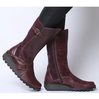 Fly London Mes PURPLE RUG LEATHER SUEDE