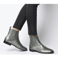 shop for Ted Baker Liveca Boot GUNMETAL LEATHER at Shopo
